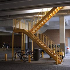 YELLOW STEPS TO SOMEWHERE