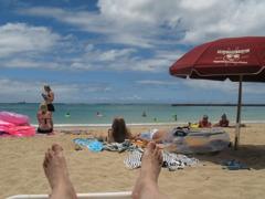 RELAXIN' AT WAIKIKI BEACH 1