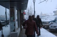 SNOW ON STONY PLAIN / SNOWY LADIES