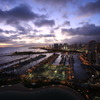 ALA WAI YACHT HARBOR, TWILIGHT
