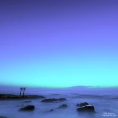 blue magic hour
