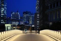 RYUKAN pedestrian bridge