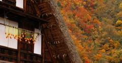 秋 深 き 五 箇 山