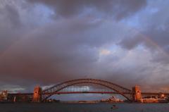 橋に架かる橋