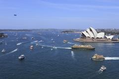 Australia Day にみる渋滞