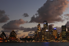 Sydney夜景