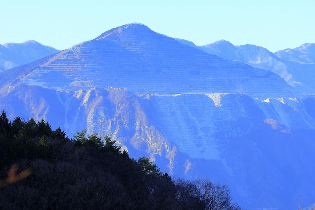 武甲山 ②