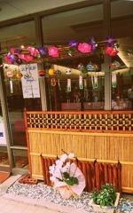 人形店の風鈴