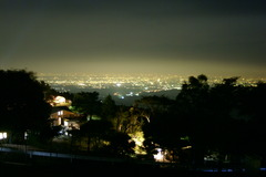 堂平山 天文台 夜景