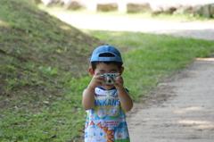 子供と撮り合い(^^)