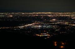 登谷山 夜景