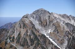 立山 別山から剱岳