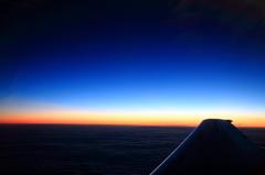 Sunset crusing