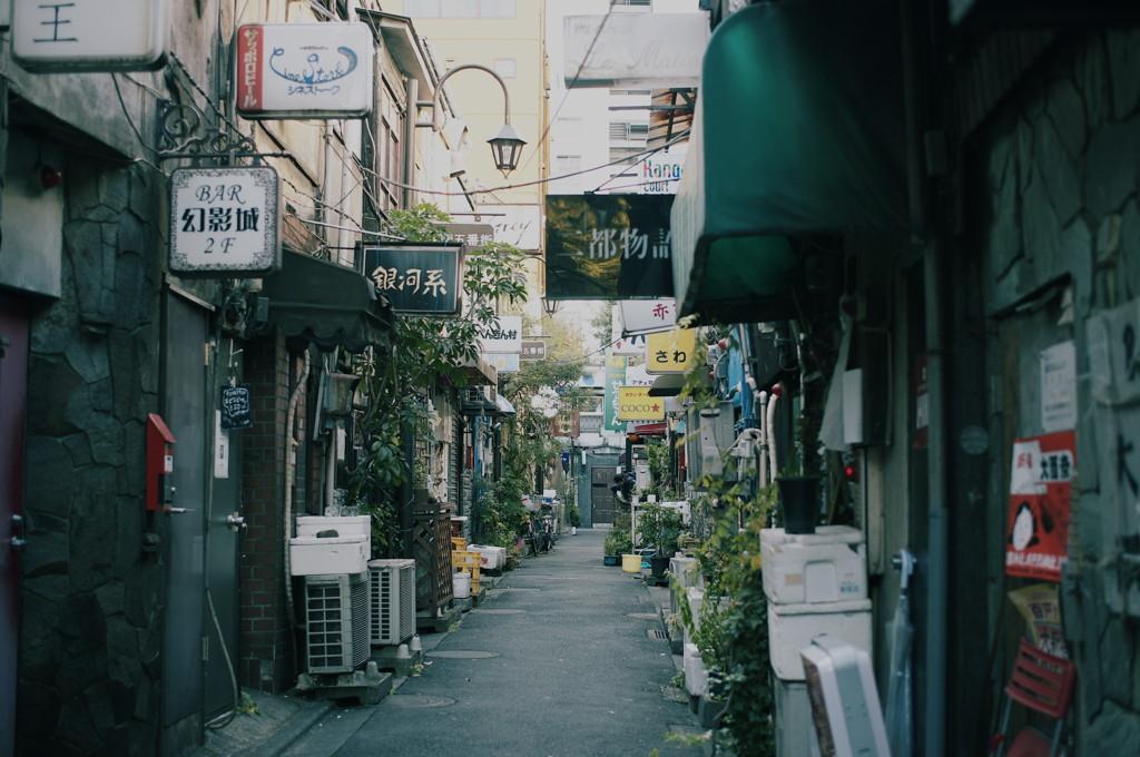 新宿路地裏