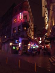 夜のイスタンブール