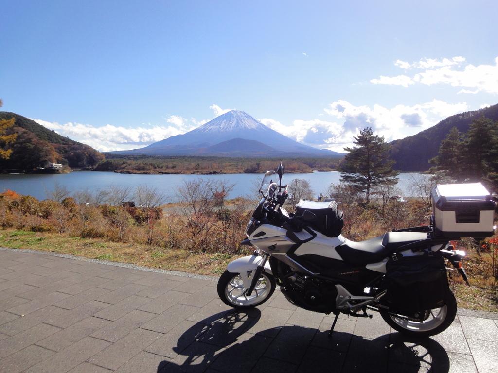 富士山-精進湖①