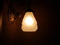やさしい灯り。