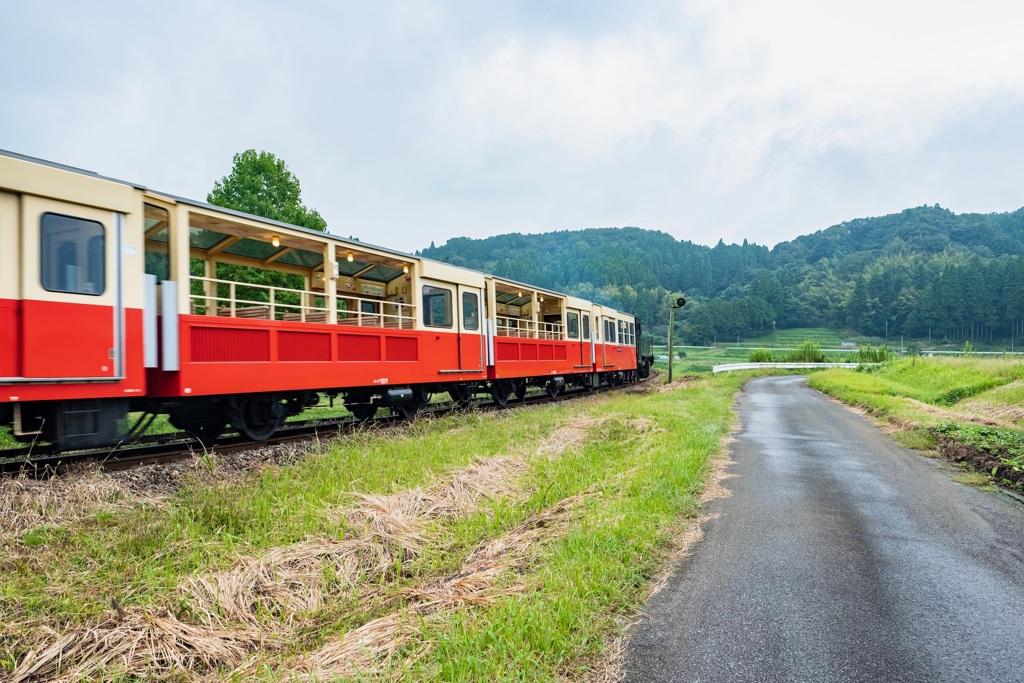小湊鐵道トロッコ列車
