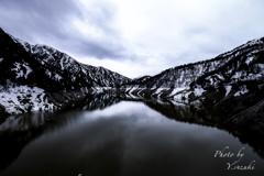 黒部のダム湖