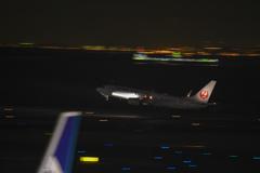 3回目の羽田空港 流し撮りの練習④