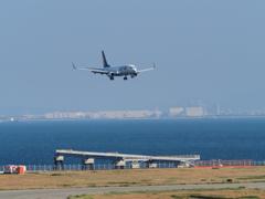 神戸空港へのスカイマーク