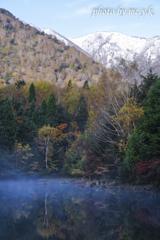 秋雪と秋色