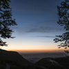 ある峠の夜明け