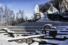 石山緑地冬景色