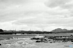 近鉄道明寺線 大和川橋梁