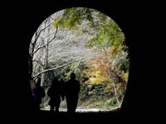 廃線跡「トンネル」①