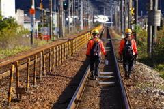 鉄路の安全を守る