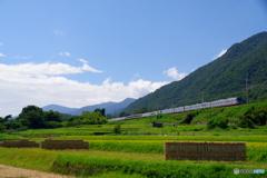 はぜかけの鉄道風景