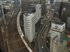S字(帝国ホテル窓から)