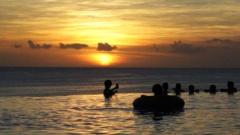 Sunset in Guam 2