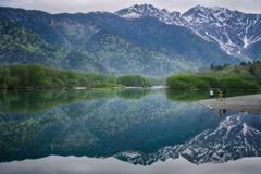 上高地 大正池