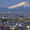 さいたま市から富士山撮影