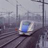 雨の軽井沢駅にて