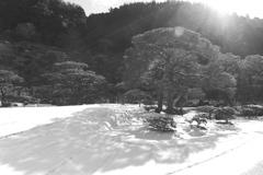 銀閣寺 モノクロ-ム⑤