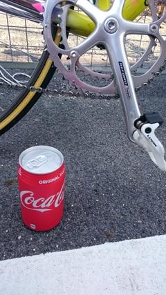 補給はコーラで