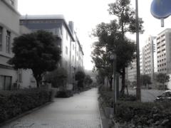 人影のない街