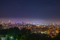 札幌夜景  旭山公園より2