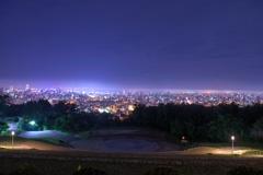札幌夜景 旭山公園より