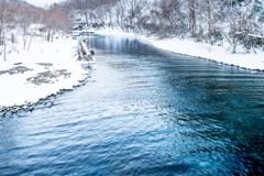 支笏湖から千歳川へ