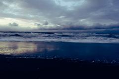 やっと石狩の海