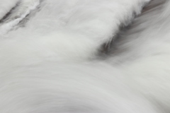 流れる水を練習撮り