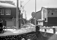 寒冬の旧道