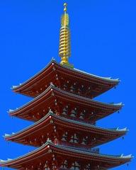 五重の塔 in 浅草寺
