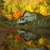 耶馬渓の紅葉とリフレ
