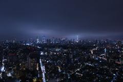 雲の下の東京
