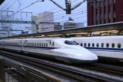 静岡駅にて